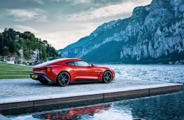 Aston Martin Vanquish Zagato, 2016, side, static