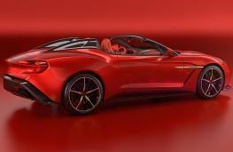 Aston Martin Vanquish Zagato Speedster, 2017, rear