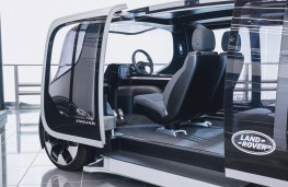 Jaguar Land Rover Project Vector, interior