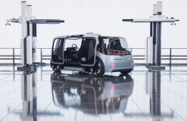 Jaguar Land Rover Project Vector, rear