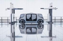 Jaguar Land Rover Project Vector, side, doors closed
