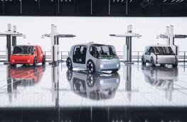 Jaguar Land Rover Project Vector, vehicles parked