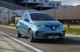 Renault ZOE, 2019, front