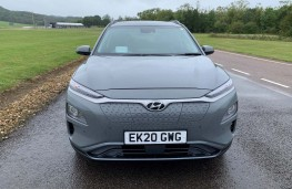 Hyundai Kona Electric, 2020, nose