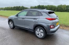 Hyundai Kona Electric, 2020, rear