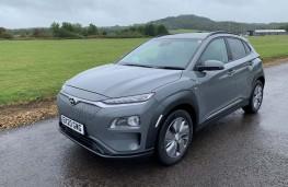 Hyundai Kona Electric, 2020, side