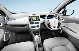 Renault Zoe, interior