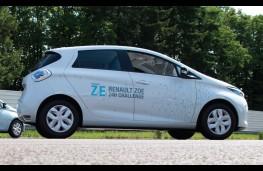 Renault Zoe, side