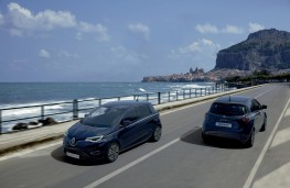 Renault Zoe Riviera Limited Edtion, 2021, front and rear