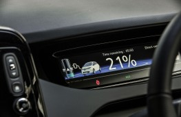 Renault Zoe, 2018, charging display