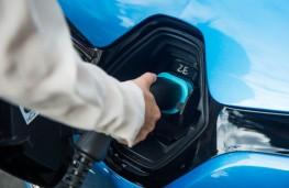 Renault Zoe, 2017, charging