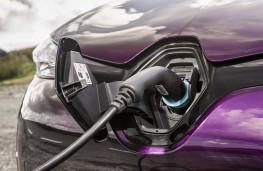 Renault Zoe, 2018, charging point