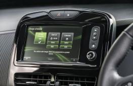Renault Zoe, 2018, display screen