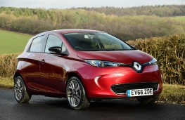 Renault ZOE, 2017, front, action