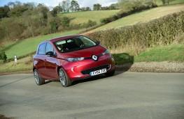 Renault ZOE, 2017, front