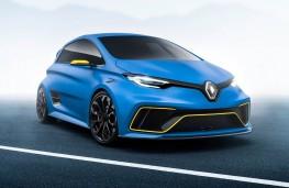 Renault ZOE e-sport concept, 2017, front