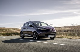 Renault Zoe, 2018, front, static