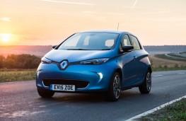 Renault Zoe, front