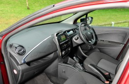 Renault ZOE, 2017, interior