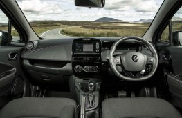Renault Zoe, 2018, interior