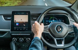 Renault Zoe, 2020, interior