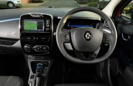 Renault ZOE, 2017, dashboard