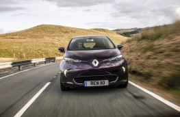 Renault Zoe, 2018, nose, action