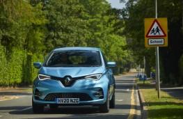 Renault Zoe, 2021, school run, nose