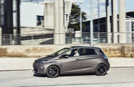 Renault Zoe, 2017, side, action