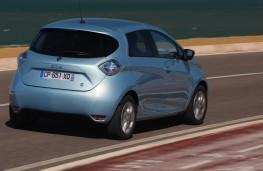 Renault Zoe, 2017, rear
