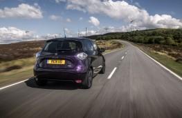 Renault Zoe, 2018, rear, action