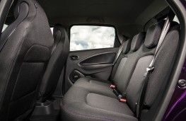 Renault Zoe, 2017, rear seats