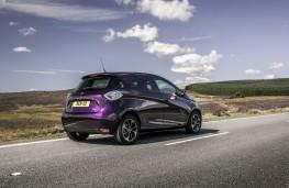 Renault Zoe, 2018, rear, static