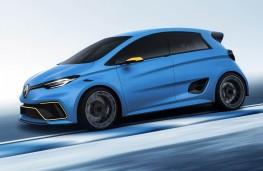 Renault ZOE e-sport concept, 2017, side