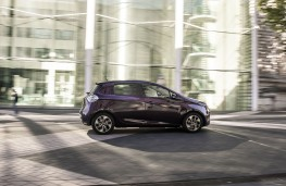 Renault ZOE, side, action