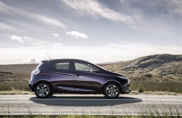 Renault Zoe, 2018, side, static