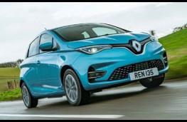 Renault Zoe, 2020, front