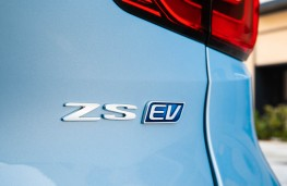 MG ZS EV, 2019, badge