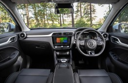 MG ZS EV, 2019, dashboard