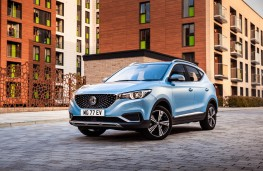 MG ZS EV, 2019, front, static