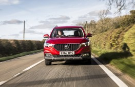 MG ZS, dynamic front