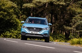 MG ZS EV, 2019, nose