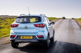 MG ZS EV, 2019, rear, action