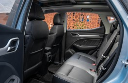 MG ZS EV, 2019, rear seats