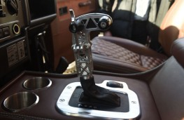 Zulu Defender, 2017, gear lever