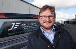 Jonathan Douglas, managing director, JE Motorworks