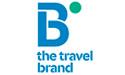 B the travel brand logo def