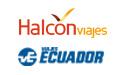 Halcon viajes viajes ecuador logo combinado 2018