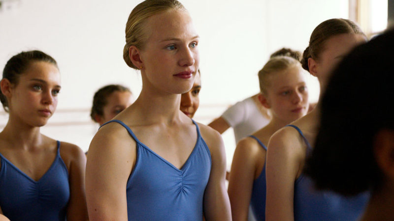 Which drama film by Lukas Dhont tells the story of a trans girl who pursues a career as a ballerina?