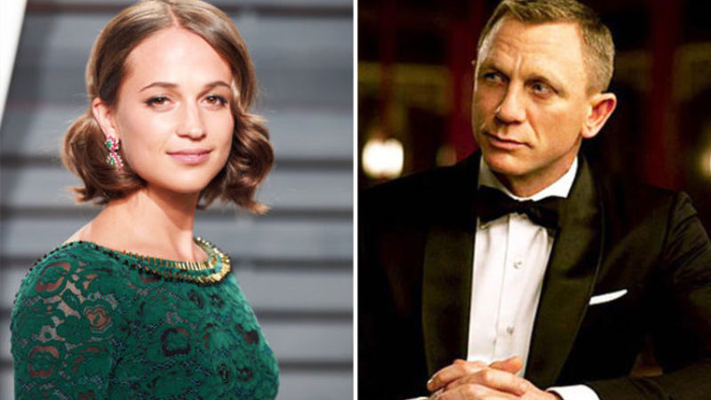 What do Daniel Craig and Alicia Vikander have in common?